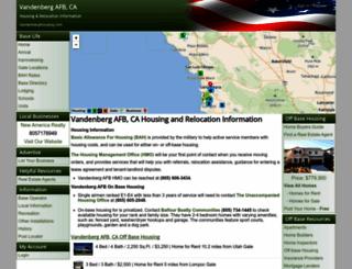 vandenberghousing.com screenshot