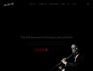 vandenhul.com screenshot