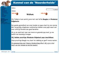 vandenoorderheide.nl screenshot