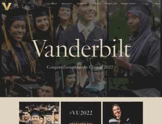 vanderbilt.com screenshot