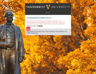 vanderbilt.policytech.com screenshot