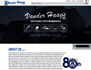 vanderhaags.com screenshot