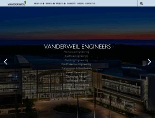 vanderweil.com screenshot