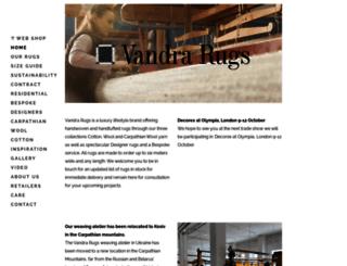 vandra-rugs.com screenshot