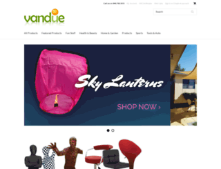 vandue.com screenshot