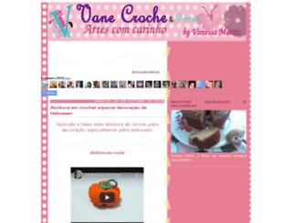 vanecroche.blogspot.com.br screenshot