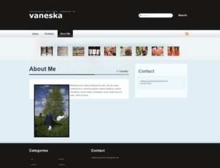 vaneska.com screenshot