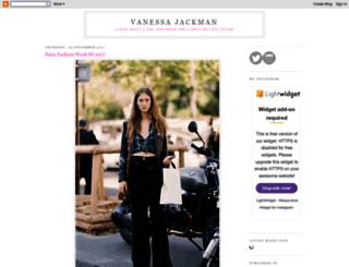 vanessajackman.blogspot.se screenshot