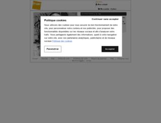 vanessaparadis.fnacspectacles.com screenshot