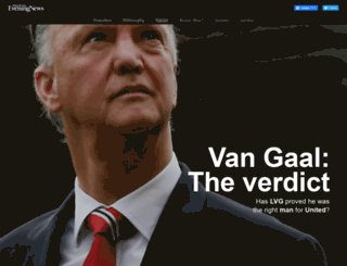 vangaal.manchestereveningnews.co.uk screenshot