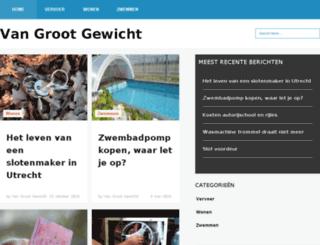 vangrootgewicht.nl screenshot