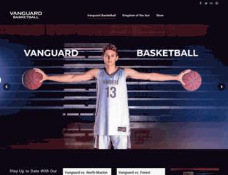 vanguardbasketball.com screenshot