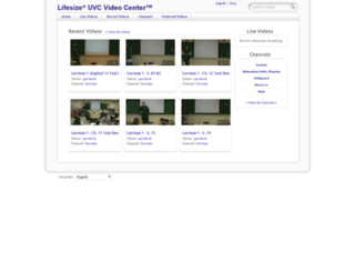 vanguardvideo.gtc.edu screenshot