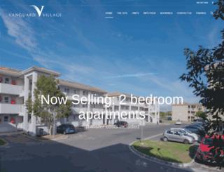 vanguardvillage.co.za screenshot