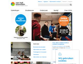 vanhall-larenstein.nl screenshot