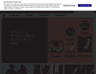 vania.com screenshot