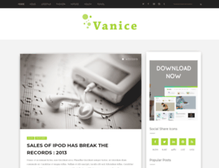 vanice-std.blogspot.in screenshot