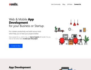 vanila.io screenshot