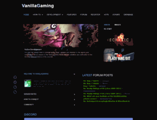 vanillagaming.org screenshot