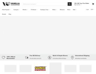 vanillaunderground.com screenshot