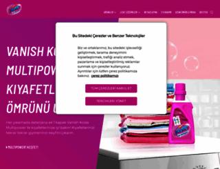 vanish.com.tr screenshot
