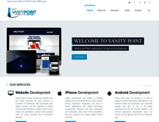 vanitymobileapps.com screenshot