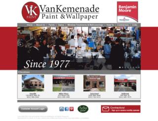 vankemenade.com screenshot
