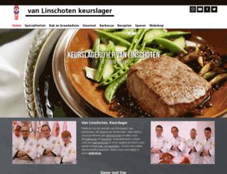 vanlinschoten.keurslager.nl screenshot