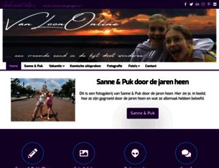 vanloononline.nl screenshot