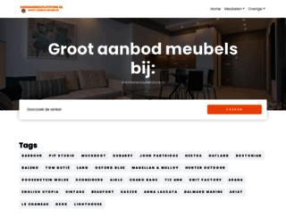 vanmanenoutletstore.nl screenshot