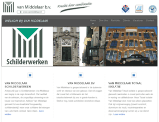 vanmiddelaar.nl screenshot