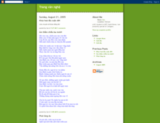 vannghe.blogspot.com screenshot