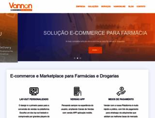 vannon.com.br screenshot