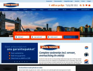 vannood.nl screenshot