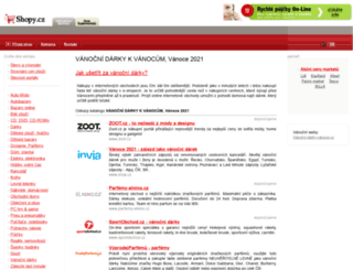 vanocni-darky.shopy.cz screenshot