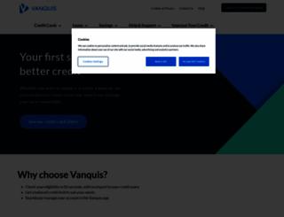 vanquis.co.uk screenshot