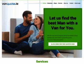 vanquotes.ie screenshot