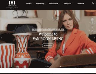 vanroonliving.com screenshot