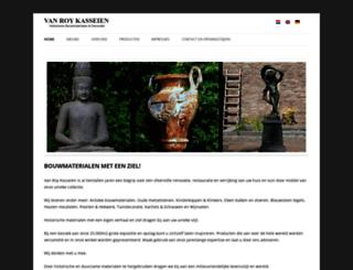 vanroykasseien.nl screenshot