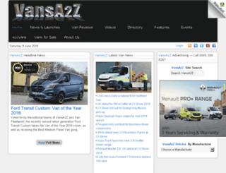 vansa2z.com screenshot