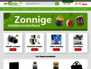 vanslobbe.nl screenshot