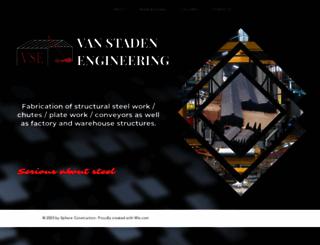 vanstadeneng.co.za screenshot