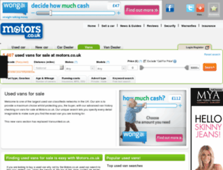 vansunited.co.uk screenshot