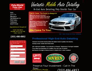 vantasticautodetailing.com screenshot