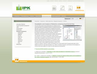 vanted.ipk-gatersleben.de screenshot