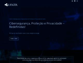 vantix.com.br screenshot
