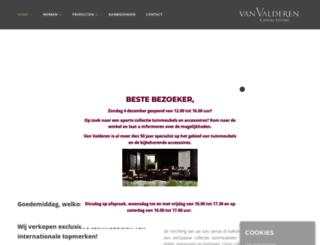 vanvalderen.nl screenshot