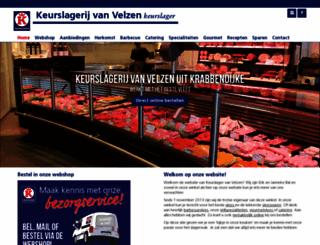 vanvelzen.keurslager.nl screenshot