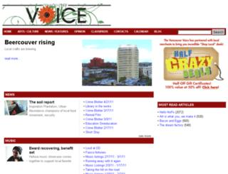 vanvoice.com screenshot
