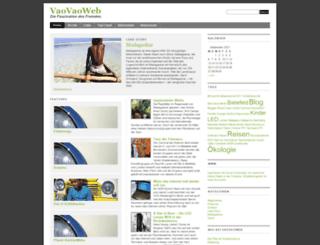 vaovaoweb.de screenshot
